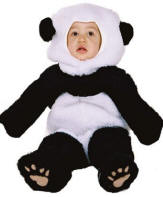 Child Panda Bear Costume  sc 1 st  Costumes of Nashua LLC & Child Monkey CostumeKangarooMousePanda BearPolar BearChild ...