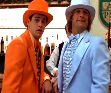 dumb and dumber costume blue tuxedo orange tuxedo abba costumes