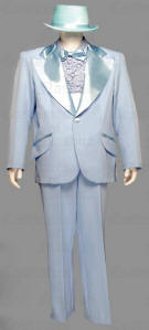 Dumb And Dumber Costume Blue Tuxedo Orange Tuxedo Abba