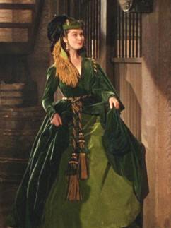 Scarlett O Hara Costume Curtain Dress 7c525ef1934d