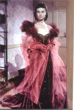 Scarlett O Hara Costume Garnet Gown 3934a3cc1