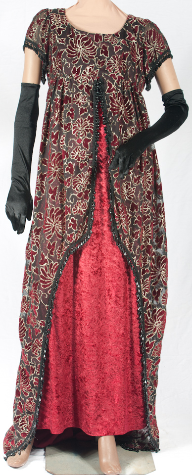 Deluxe Titanic Costume Evening Dress Belle Époque 15c15b3caa0d