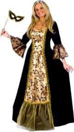 Plus size medieval dresses for women