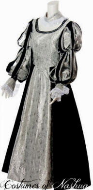 Scarlett ohara white dress costume 50s detective