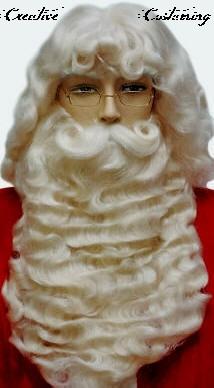 Yak Hair Santa Wigs 49