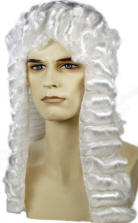 Mens Powdered Wigs For Sale 88