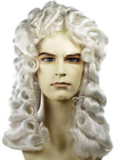 Mens Powdered Wigs For Sale 104