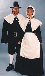 Deluxe Pilgrim Man u0026 Puritan Lady Costume  sc 1 st  Costumes of Nashua LLC & Pilgrim CostumesPilgrim Woman CostumePilgrim Man CostumePuritan ...
