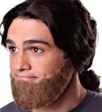 Beardsmoustachegoateesideburnsmustachefake Beardmutton Chops