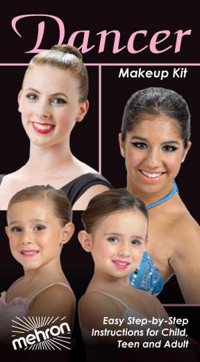 Mehron Dancers Makeup Kit Mini Pro Make Up Kit Face