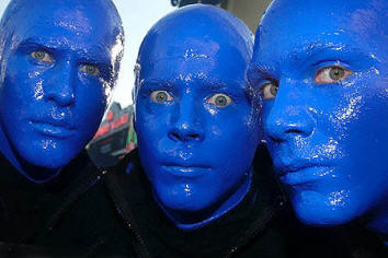 Blue Man Group Grease Paint