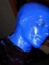 Blue Man Group Face Paint Recipe